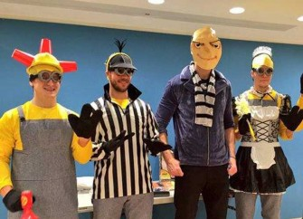 Boston Bruins Dress Up As 'Despicable Me' Characters