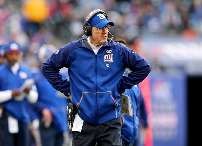 Tom Coughlin Steps Down As Giants Head Coach