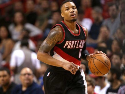 Blazers' Damian Lillard Calls Out Lakers' D'Angelo Russell After Spat In Game