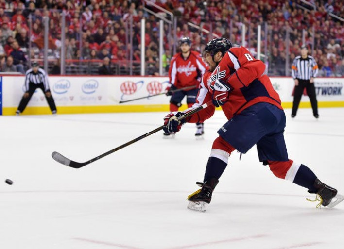 Capitals' Alex Ovechkin Ties Canadiens Great Maurice 'Rocket' Richard With 544th NHL Goal