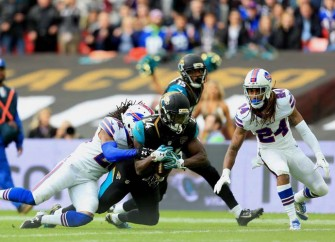 Jaguars Beat Up Bills In London Game, Nearly Blow Lead