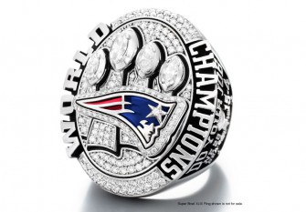 New England Patriots Receive Their Super Bowl Rings