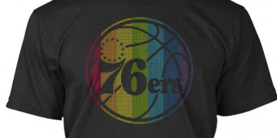 NBA Debuts LGBT Rainbow-Logo Tees In Support Of 'Pride Month'
