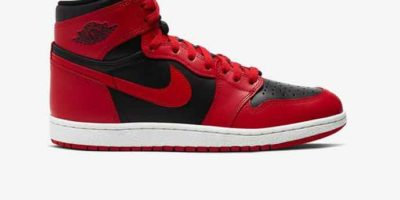 'Banned' Reverse Air Jordan 1 Hi 85: Michael Jordan's Shoes Were Too Hot For The NBA!