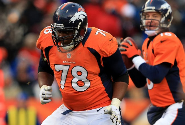 Broncos Pro Bowl Tackle Ryan Clady Possibly Out for 2015 with Torn ACL