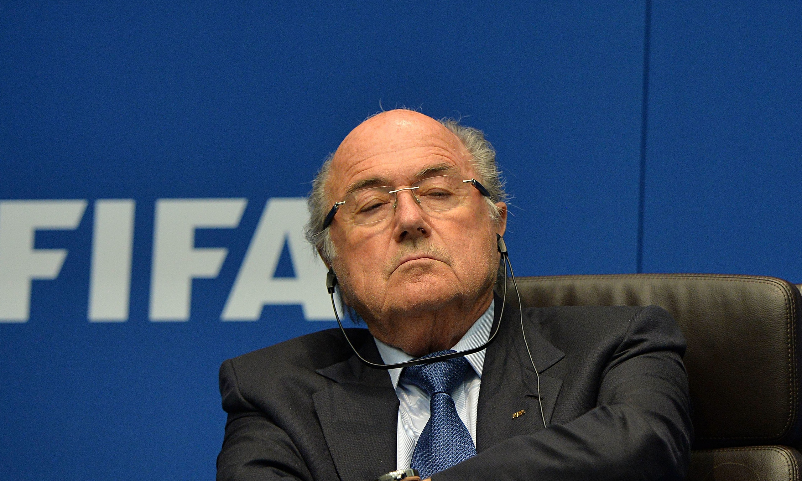 Sepp Blatter Remains FIFA President After Chaotic FIFA Congress