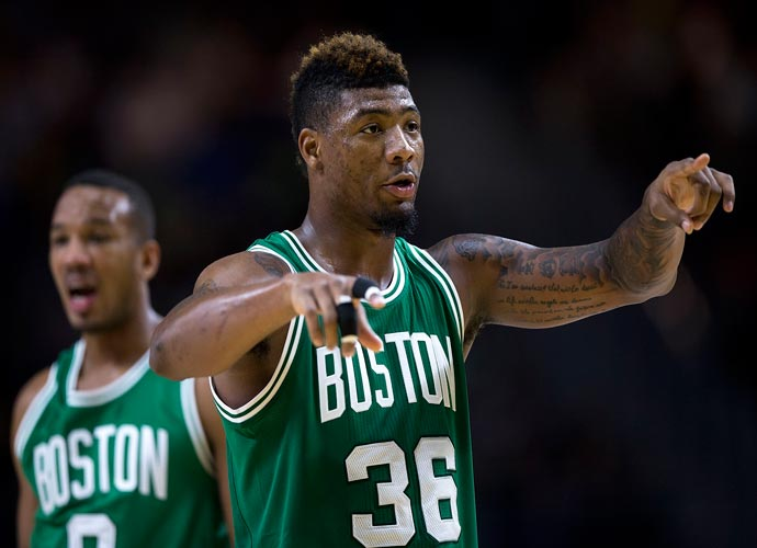 Celtics' Marcus Smart&Jaylen BrownHave Locker Room Shouting Match After Game 2 Loss To Miami